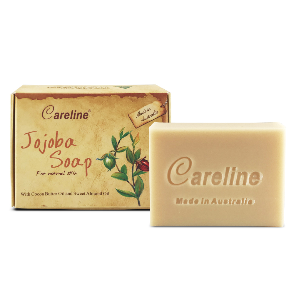 Careline Jojoba Soap with Cocoa Butter Oil and Sweet Almond Oil 100g